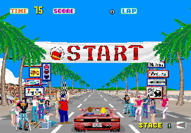 Outrun...played this countless times after the swimming baths