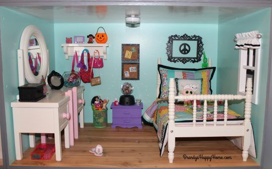 1000 ideas about american girl dollhouse on pinterest for American girl doll bedroom ideas