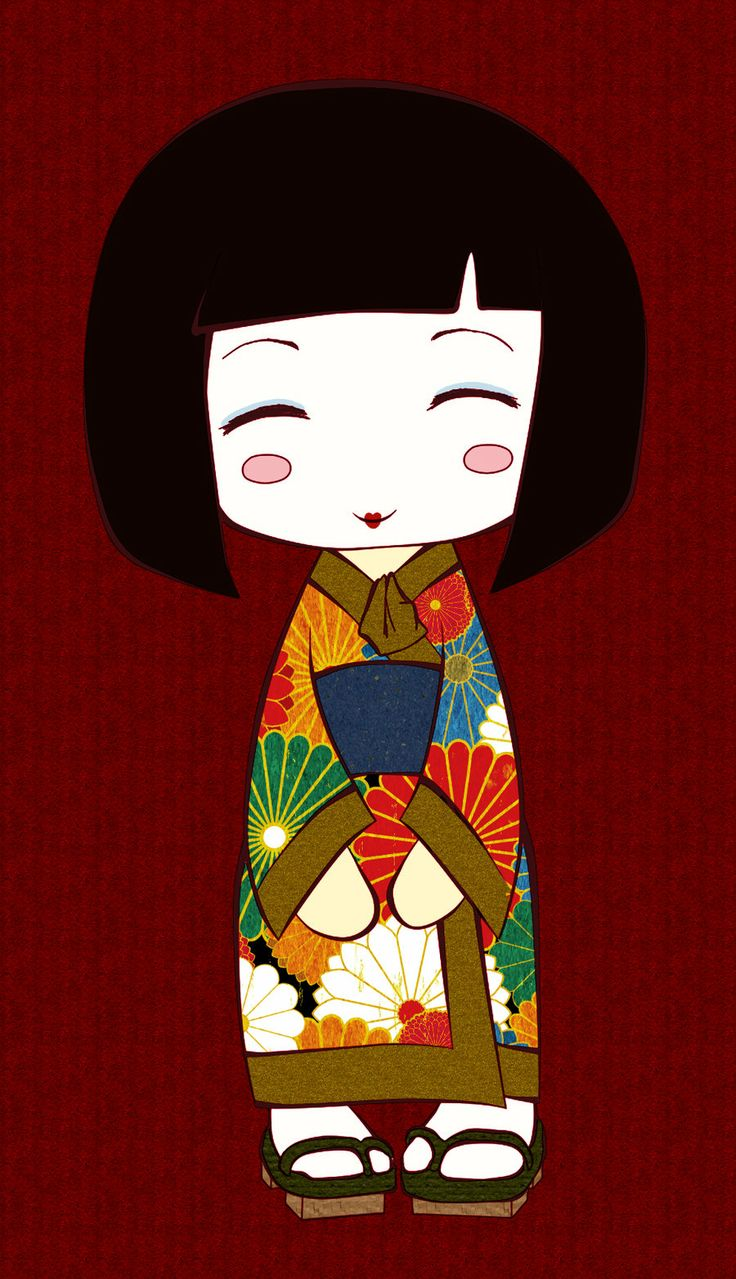 Kokeshi Doll by coloradogirl86.deviantart.com