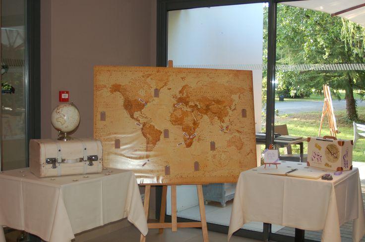 plan de table mappemonde