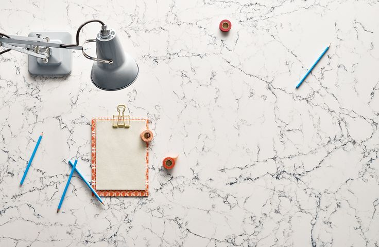 Inspired by classic natural marbles, White Attica features a clean white base with dense, dark grey interwoven veins.