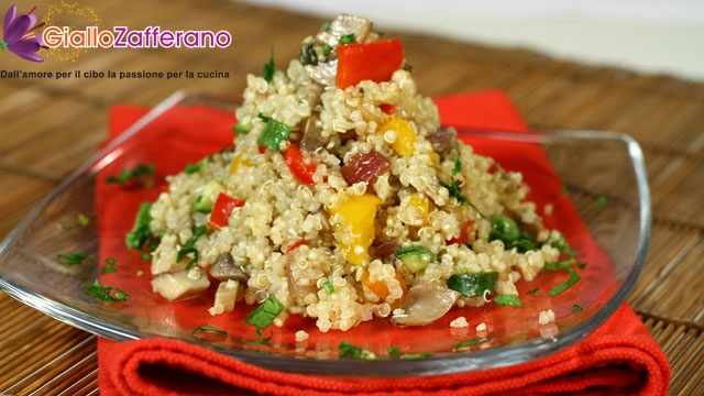 Quinoa con verdure - For some #healthy autumn/winter lunchboxes...
