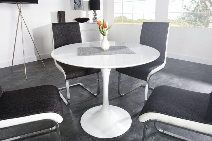 www.ventura-design.nl Eettafel Signum 90cm wit - 22919 326 Euro