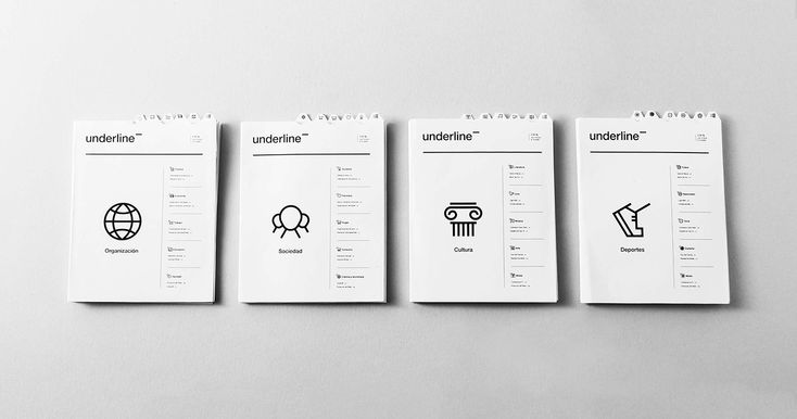 underline¯ on Behance