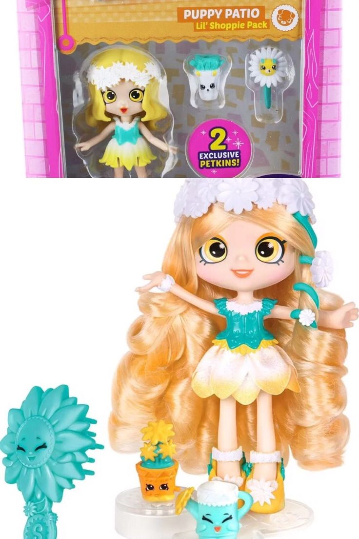 Shopkins Shoppies Doll Daisy Petals Happy Places Daisy Petals New toy 2 dolls s