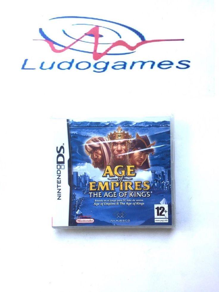 Age of Empires Age of Kings Nintendo DS PAL/SPA Precintado Videojuego Nuevo New