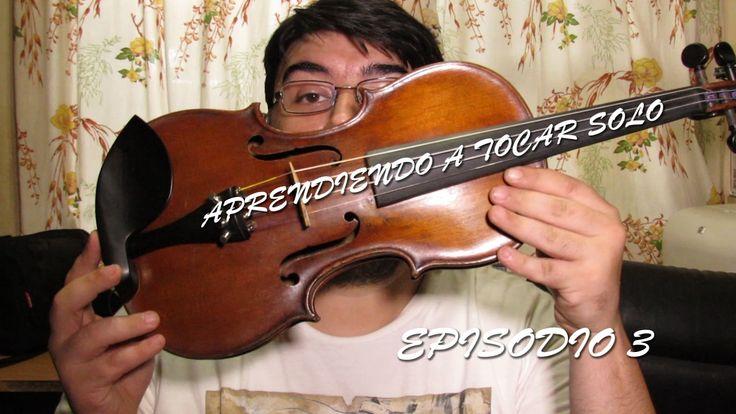 Aprendiendo a tocar solo | Episodio 3 | Lightly Row - Violin