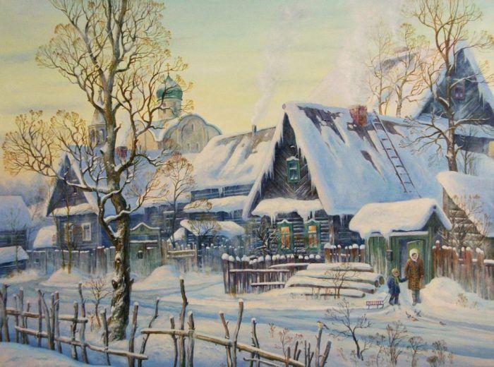 красота русского пейзажа – 29