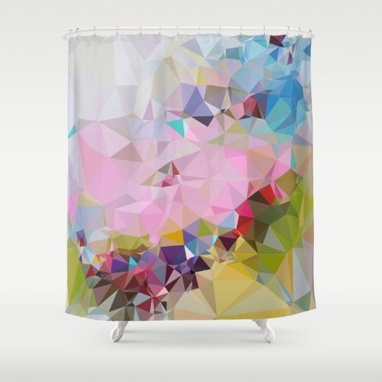 COTTON CANDY 02. Shower Curtain by MESSYMISSY76