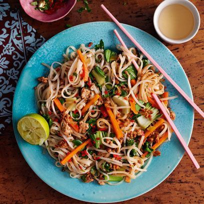 Pork pad thai | Thai recipes | Red Online