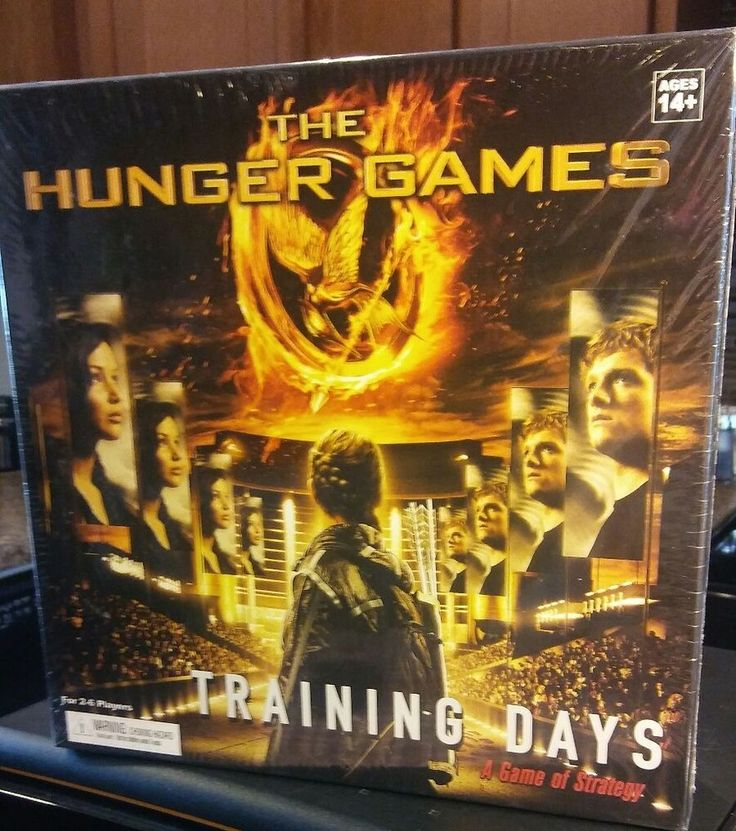 The Hunger Games Training Days Strategy Board Game 2-6 Players BRAND NEW SEALED | Toys & Hobbies, Games, Board & Traditional Games | eBay!