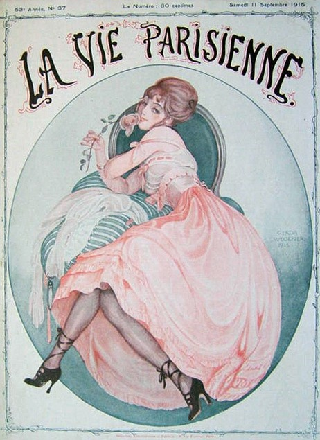 Gerda Wegener (1886 – 1940). La Vie Parisienne, 11 Septembre 1915. [Pinned 6-vi-2015]