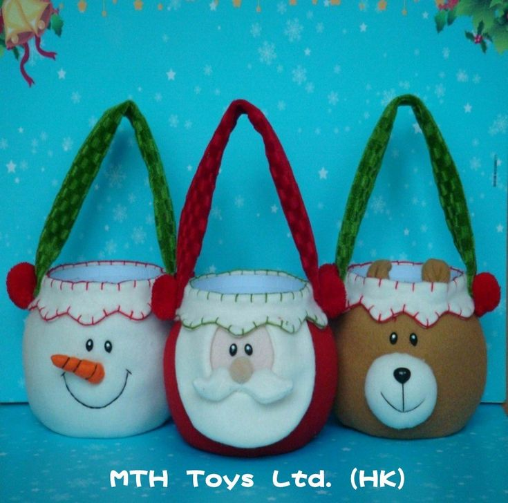 Christmas craft boxes & bags