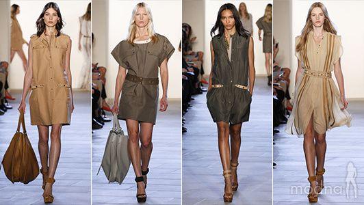модная одежда в стиле сафари