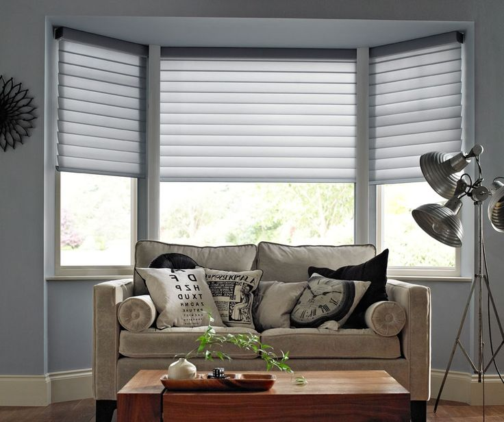 1000+ Ideas About Bay Window Blinds On Pinterest