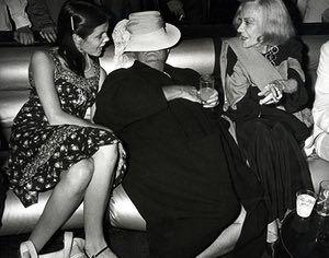 Ron Galella Disco NYC: Kate Harrington, Truman Capote and Gloria Swanson at Studio 54