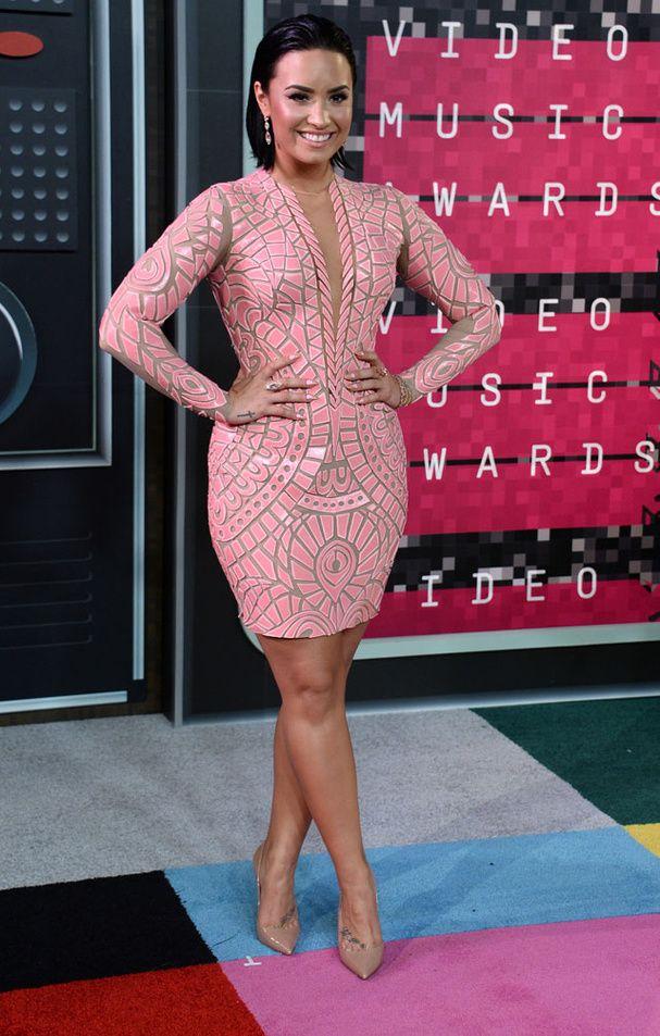 Demi Lovato aux MTV Video Music Awards 2015