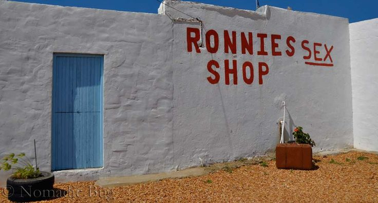 The WILD west, Ronnies Sex Shop, Route 62, Klein Karoo, South Africa  Landmarks Nomadic Existence