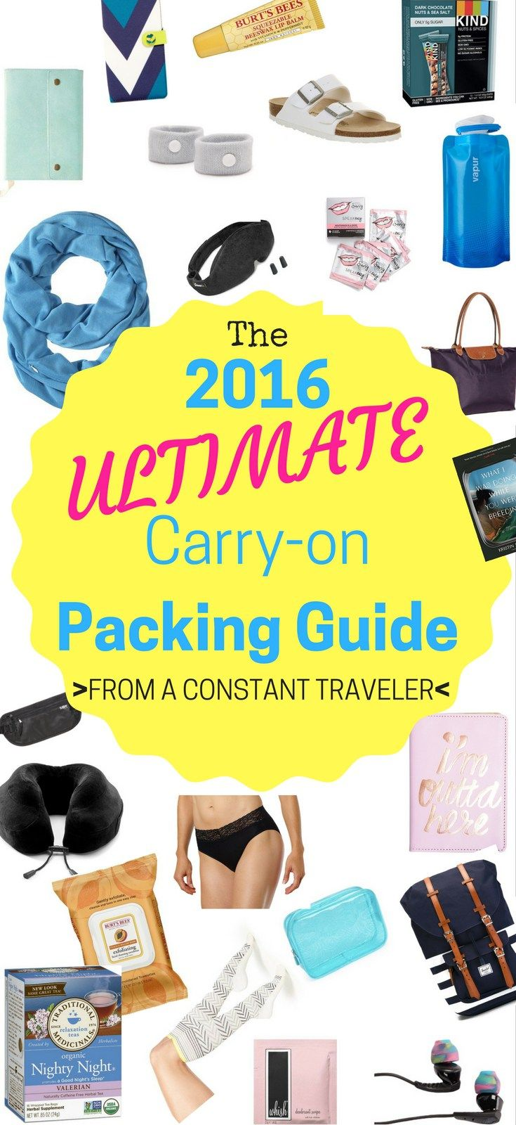 The ultimate carry on packing list for women