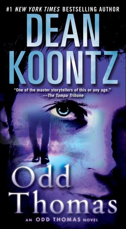Odd Thomas  Love the Odd Thomas books.  Currently ready Odd Apocolypse on my iPhone.  This is a wonderful series of books to read.