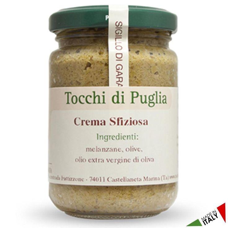 CREMA SFIZIOSA GR 140 TOCCHI DI PUGLIA  (070909)