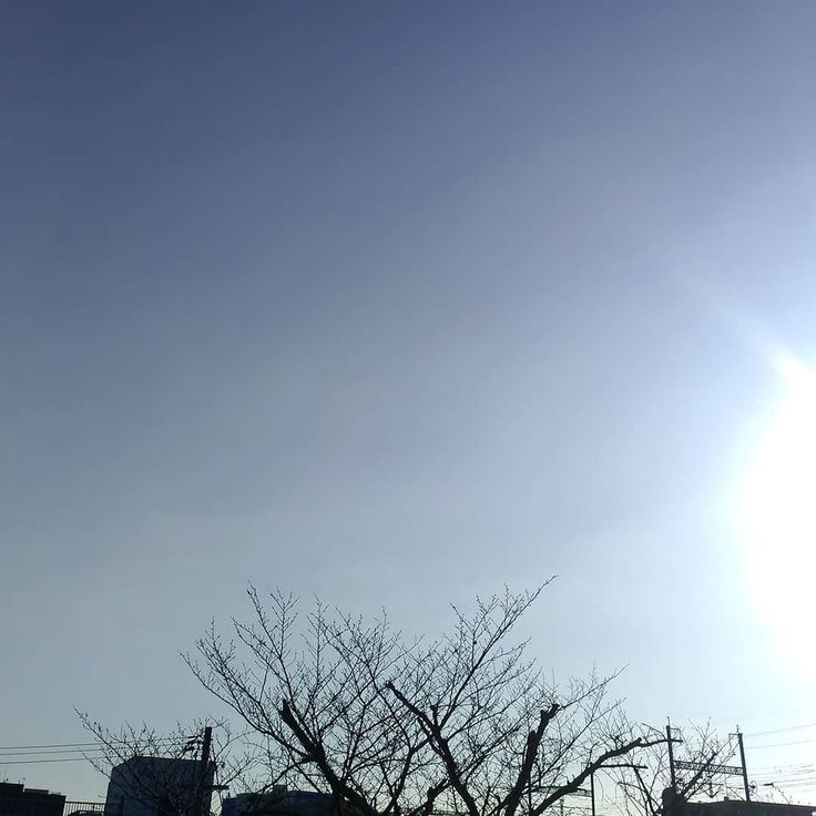 おはようございます今日も穏やかないい天気になりました #空 #雲 #sky #cloud #イマソラ #おはよう #goodmorning