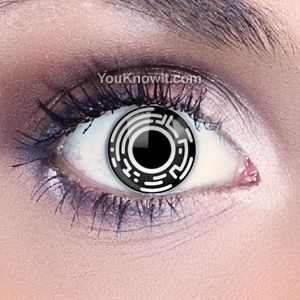 Bionic Eye Contact Lenses... I wish Dr D would let me get cool stuff like these, I am sure he would make up some excuse why I couldn't wear them...