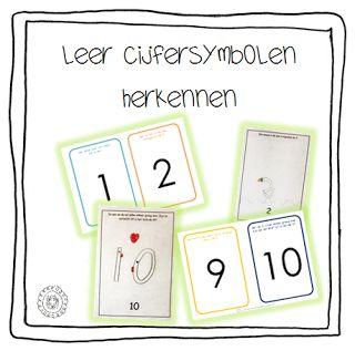 Cijfersymbolen leren herkennen | Beginnende gecijferdheid
