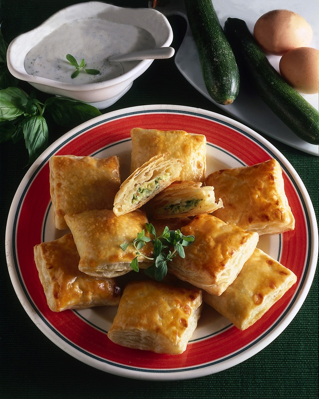Quadrotti di zucchine