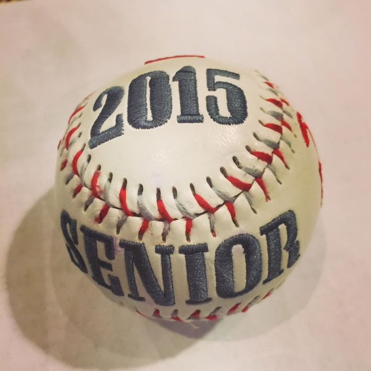 Show details for Custom Embroidered Baseball | 16 birthday