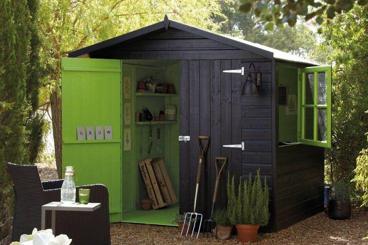 34 best images about black garden shed inspiration on. Black Bedroom Furniture Sets. Home Design Ideas