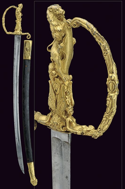A presentation sword. Provenance: France.
