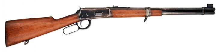 Winchester Model 1894 PCMR lever-action rifle    Manufactured by the Winchester Repeating Arms Company in New Haven, Connecticut for the Canadian Pacific Coast Militia Rangers, a group of trappers, hunters and other locals of the West coast of Canada armed for the purpose of fighting a possible Japanese invasion.