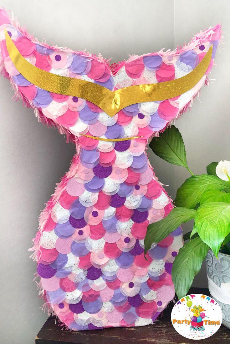 Piñatas Coladesirena Sirena Party Decoracion En 2019