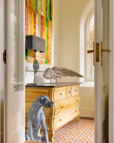 Belgian Commode Richard Allen Painting original victorian tiled floor through french doors - & 79 best Minnie Peters Interiors images on Pinterest | Peter o ... pezcame.com