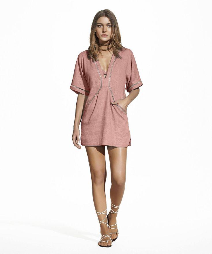 Duchesse Joanna Dress, ViX Swimwear, Brazilian Design, Swimwear, Cover Up, Dress, Vacation, Beach, Resort wear, Brazil, Resort 2017