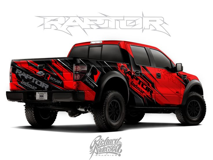 My truck wrap design from Custom car designer online