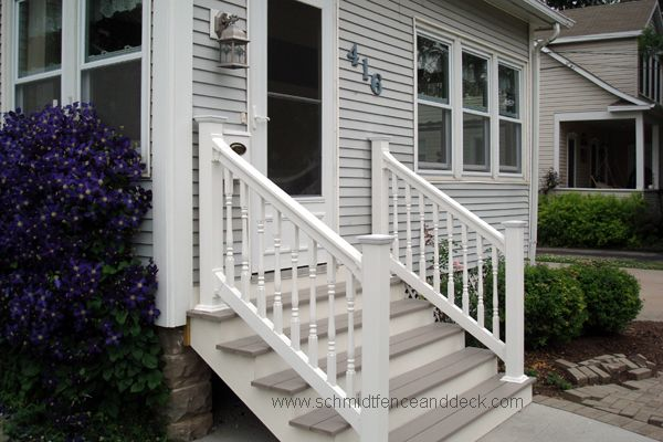 Best 25 Outdoor Stair Railing Ideas On Pinterest Deck 400 x 300