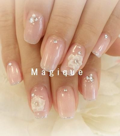 Kinda loving these natural nails....not sure about the roses but I definitely like the rest!