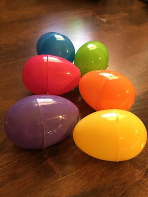 Something new other than Resurrection eggs - An Easter Egg Hunt Bible Object Lesson! Use the colors of the eggs to point out 6 truths about Jesus!