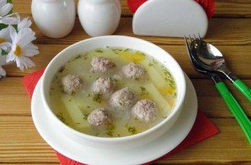 Суп из фрикаделек - пошаговые рецепты с фото. Приготовление супа с фрикадельками