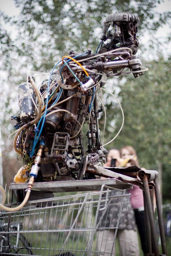 Robot in Berlin
