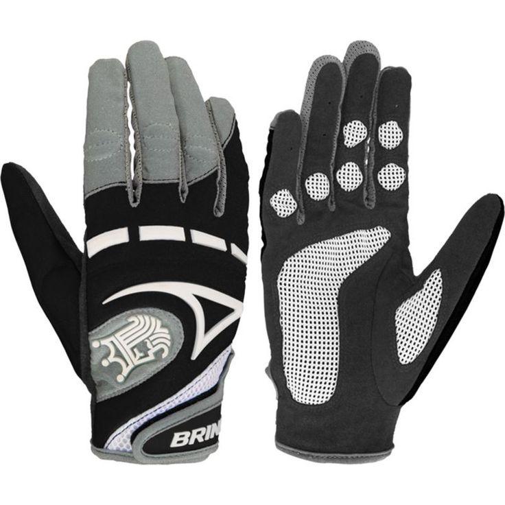Brine Women's Mantra Performance Lacrosse Gloves, Black
