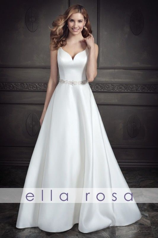 Ella Rosa Wedding Dress BE340