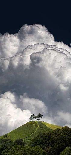High Altitude Cumulonimbus Cloud Formation