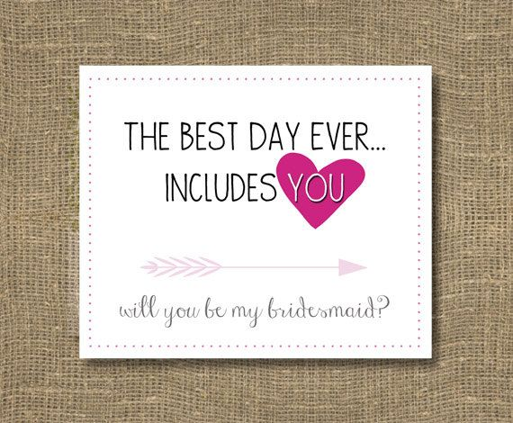 1000+ Ideas About Asking Bridesmaids On Pinterest
