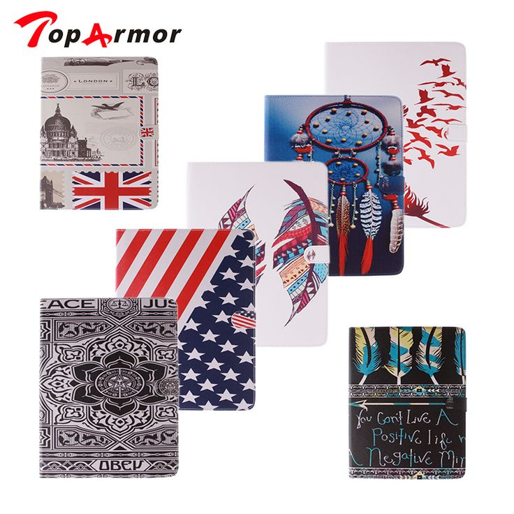 """TopArmor Brand case For iPad 4 9.7"""" inch Printing Design Stand Flip Leather Case sFor Apple iPad2 iPad3 iPad4 Tablet Cover #Affiliate"""