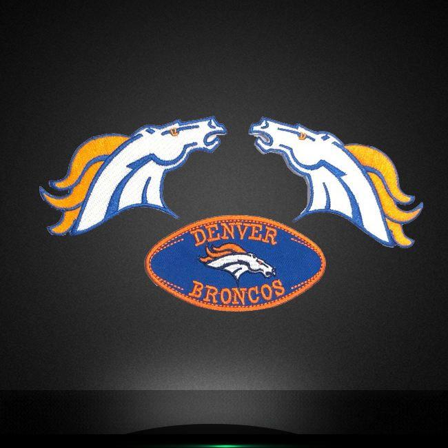Wholesale Heat Presss Patch Appliques Broncos Designs Hot Fix Sport Team Denver Badge Motifs For Clothing Https Peakembxf Com In 2020 Patches Vinyl Designs Applique