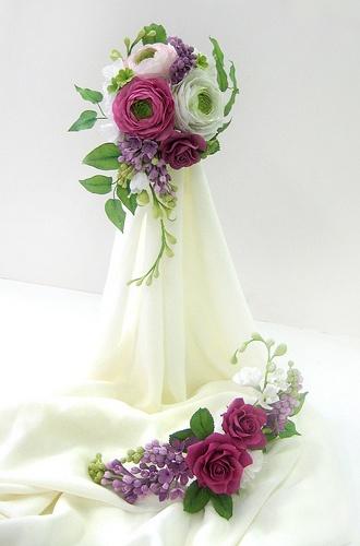 wedding bouquet by salon J, via Flickr
