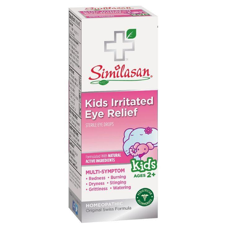Similasan Kids Irritated Eye Relief Eye Drops- 0.33oz